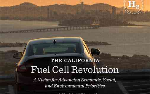 The California Fuel Cell Revolution: CaFCP 2030 Vision